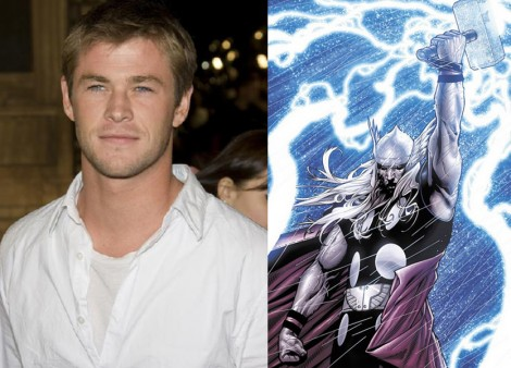 chris hemsworth. Chris Hemsworth cast as Thor