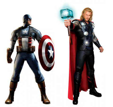 Itu0027s been a crazy last couple of days for Marvel Studios and its fans as renderings of what the films costumes for Captain America u0026 Thor were leaked.  sc 1 st  Dumb Drum & Costumes for upcoming Captain America u0026 Thor films revealed » Dumb Drum